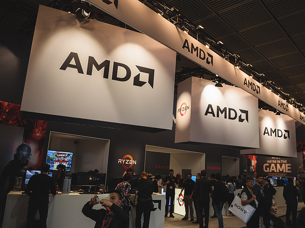 AMD IFA 2017 Training Messestand