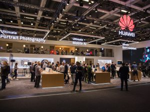 HUAWEI IFA 2017 Promotion Messestand