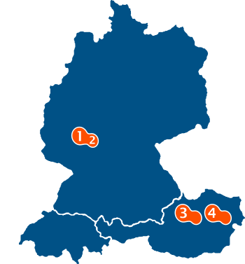 JET Services Marketing Agentur Standorte