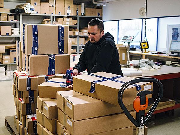 JET Services Dienstleistung Lager & Logistik