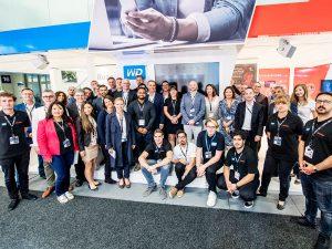 Das IFA 2017 Team von SanDisk und WD