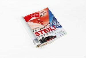 SanDisk Promotion mit CRN Alpen 2017 Heft Cover