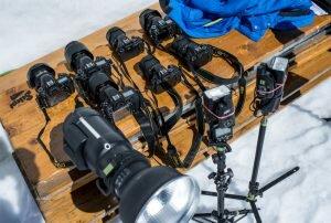 SanDisk Promotion Alpen 2017 Fotoausrüstung