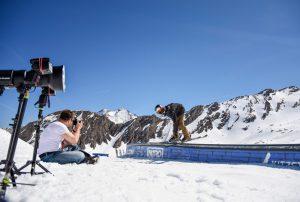 SanDisk Promotion Alpen 2017 Ski Fotoshooting