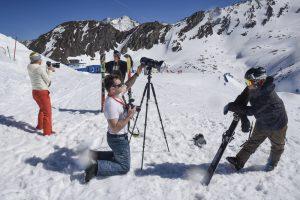 SanDisk Promotion Alpen 2017 Pistenshooting