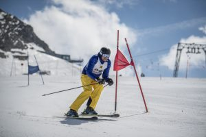 SanDisk Promotion Alpen 2017 Skiabfahrt