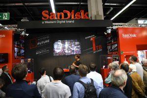 SanDisk Messekonzept von JET Services für Photokina 2016