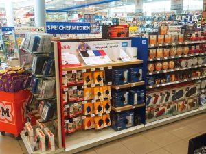 Merchandising Aktion für WD und SanDisk