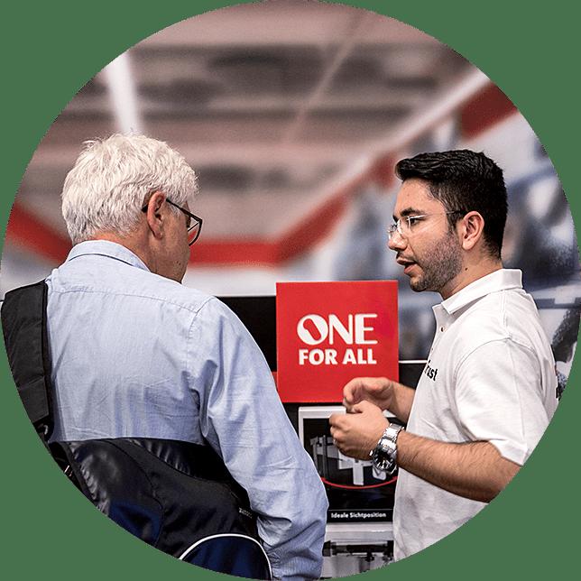 Vertriebsagentur JET Services Verkaufsgespräch